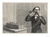 Using Bell&#39;s Original Telephone Apparatus