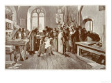 Tsar Ivan IV Visits the Printing Establishment of Ivan Fedoroff