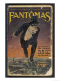 Fantomas' (Pierre Souvestre and Marcel Allain)  Cover of the First Edition of the Book