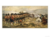 The &quot;Thin Red Line&quot; of the 93rd Highlanders Repel the Russian Cavalry