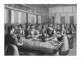 Girls Cutting and Packing at Bryant and May's Match Factory