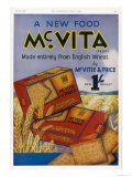 Mcvitie's Mcvita Wheat Biscuits Made Entirely from English Wheat at One Shilling a Packet
