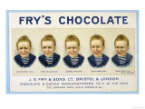 Fry's Five Boys Chocolate  Desperation Pacification Expectation Acclamation Realisation