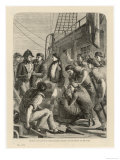 Seamen Complain About the State of Their Rations Prior to a Mutiny Aboard the Ship the Nore