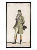 Frock Coat and Cane 1807