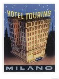 Yes the Hotel Touring at Milano Italy is Big and Its Fine Label Design Emphasises It