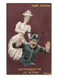 Mans Reward  Suffragette in Action
