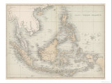 Map of the East India Islands