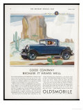 Driving Through the Western Desert in an Oldsmobile  A Great Car to Drive and a Great Car to Own