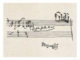 Cadenza, signé par Mozart Giclée