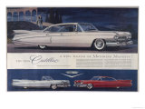 Single Glance Tells You, These are the Newest and Most Magnificent Cadillac Cars Ever Created Giclée premium