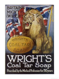 Wright&#39;s Coal Tar Soap: Britain&#39;s Might is (W)Right