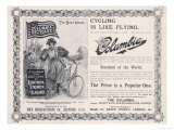 Advertisement for the American &quot;Columbia&quot; Bicycle
