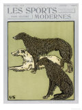 Deerhounds on Cover