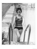 Emerging from Pool 1960s