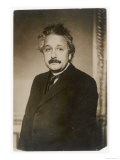 Albert Einstein German Born Physicist Winner of the Nobel Prize for Physics in 1921