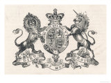The Royal Coat of Arms of Queen Victoria