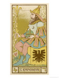 Tarot: 4 L&#39;Empereur  The Emperor