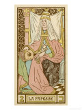 Tarot: 2 La Papesse  The Female Pope