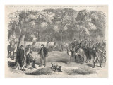 The Last Days of the Confederacy: Jefferson Davis Signs Acts of Government by the Roadside