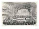An Election Meeting in Chicago Opera House: in the Outcome General Grant Will be Elected