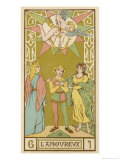 Tarot: 6 L&#39;Amoureux  The Lover