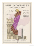 Smart Winter Coat by Aine- Montaille of the Place Vendome