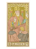 Tarot: 5 Le Pape  The Pope