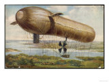 Major Von Perseval's Contribution to Military Aviation Will be Eclipsed by the Zeppelins