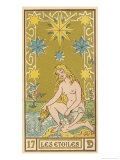 Tarot: 17 Les Etoiles  The Stars