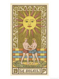 Tarot: 19 Le Soleil  The Sun