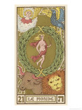 Tarot: 21 Le Monde  The World