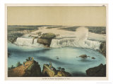 The Niagara Falls Between Canada and the United States  The American Fall