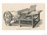Hoe&#39;s Railway Printing Machine