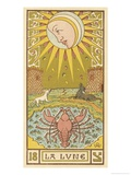 Tarot: 18 La Lune  The Moon
