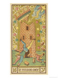 Tarot: 16 La Maison Dieu  The Tower