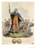Boadicea (Variously Spelt Eg Boudicca) Queen of the Iceni Wife of Prasutagus