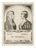 Isotta Nogarola  with Sister Angela: Italian Classical Scholar