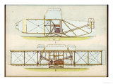 The Wright Flyer I in Which the First Powered Flight is Made at Kill Devil Hills North Carolina