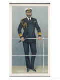 Prince Louis Alexander of Battenberg in Naval Dress