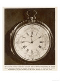Harrison's Number 4 Timekeeper or Chronometer for Finding Longitude
