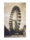 Big Wheel Built by British Engineer Walter Bassett and Opened in the Prater Vienna on 21 June 1897