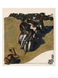 The Swabians Confront a Hare in a Field