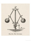 Governor or Fly-Ball Governor Invented by James Watt to Regulate the Supply of Steam