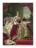 Queen Victoria Circa 1845