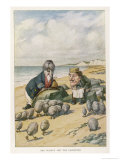The Walrus and the Carpenter Giclée premium par John Tenniel