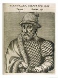 Timur Lenk (Variously Spelt as Tamerlane Tamburlaine Etc) Asiatic Ruler
