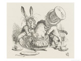 The Hatter&#39;s Mad Tea Party the Hatter and the Hare Put the Dormouse in the Tea-Pot
