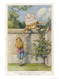 If He Smiled Much More the Ends of His Mouth Might Meet Behind Giclée premium par John Tenniel