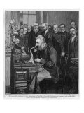 Alexander Graham Bell American Inventor and Educator Inaugurates the New York- Chicago Telephone